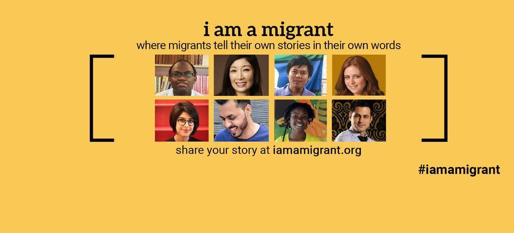 """Résultat de recherche d'images pour """"i am migrant oim"""""""